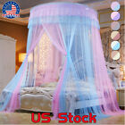 Twin Home Dome Tent Full Curtain CK Netting Foldable King Bed Canopy Two Tone US image