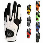 Zero Friction Mens 2019 Synth Left Hand Compression Breathable Grip Golf Glove