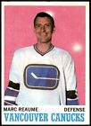 1970-71 Topps Hockey - Cards #1-132 - Set Break - Choose From The List - NHL