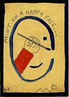 paint on a happy face e9Art ACEO Outsider Abstract Art Painting Folk Brut Naive