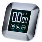 Digital LCD Touch Screen Instant Read BBQ Cooking Timer Countdown Alarm Clock