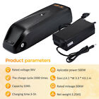 36V 10Ah 500W Downtube Lithium Battery Pack Charger Kit E-Bike Electric Bicycle