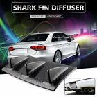 Shark Fin Diffuser 3 Wing Lip Rear Bumper Chassis ABS Universal Carbon/Black $13.86 USD on eBay