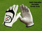 Mens Golf Gloves Left Hand Right Leather All Weathersof Lh Rh Size S-XL Golfer