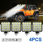 4x 48w Car 12v Led Work Spot Lights Spotlight Lamp 4x4 Van Atv Offroad Suv Truck