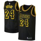 Kobe Bryant #24 Los Angeles Lakers Men's Black City Edition Jersey