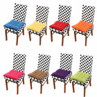 Household Office Corduroy Square Shaped Thickness Chair Cushion
