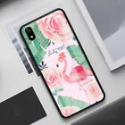 For Xiaomi Redmi K20 Note 7 6 Pro 8 Lite Tempered Glass Back Case Pattern Cover