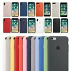 Originale Cover Per Apple iPhone X XR XS 8 7 6 Custodia Slim Silicone Genuine