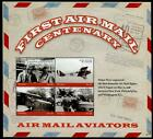 HERRICKSTAMP NEW ISSUES TUVALU Centenary of Air Mail Sheetlet