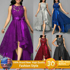 Kyпить Women Formal Long Lace Dress Prom Evening Party Cocktail Bridesmaid Wedding Gown на еВаy.соm
