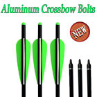 6x Aluminum Arrow Crossbow Bolts Archery Target Arrows Outdoor Hunting Shooting