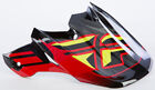 FLY RACING F2 CARBON SHORTY HELMET VISOR (BLACK/RED/LIME) 73-4617