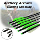 6X 16-22 Inch Aluminum Crossbow Bolts Archery Arrows Bow Hunting Free Delivery