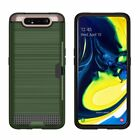 Samsung Galaxy A80 A90 Shockproof Hybrid Wallet Card Hard Case Full Back Cover
