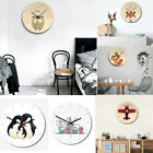 Round Wall Clock Non-fading Time Accurate Ultra-quiet Kids Baby Room Decor Watch