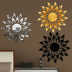3d Mirror Sun Art Removable Wall Sticker Acrylic Mural Living Room Decoration