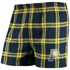 Concepts Sport Indiana Pacers Navy Homestretch Flannel Boxer Shorts on eBay