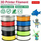 3D Printer Printing Filament 1.75mm 1KG Spool Accuracy Makerbot PETG Material UK