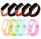For Xiaomi MI Band 4 3 Strap Replacement Bracelet Silicone Wristband Watch Band image