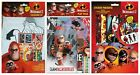 DISNEY INCREDIBLES 2 - Colouring Sticker Sets Xmas Birthday Gift Party Loot Bags