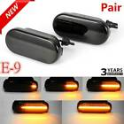 Uk 2× Dynamic Flowing Led Side Marker Signal Light Indicator Repeaters For Vw T5