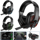 3.5mm LED Gaming Headset Surround Sound Noise Reduction Mic Headphone for PS4 PC