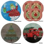 Range Kleen Christmas Electric STOVE Top BURNER COVERS U Choose