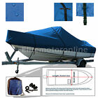 Challenger+Offshore+V+24+SS+Trailerable+Boat+Cover+Blue