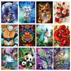 Full Drill Animal Flower DIY 5D Diamond Painting Cross Stitch Embroidery Decor