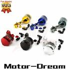 Metal Universal Front Brake Clutch Tank Cylinder Fluid Oil Reservoir Motorcycle $13.25 USD on eBay