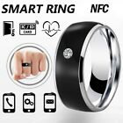 Waterproof Smart Ring NFC Intelligent Stainless Steel Finger Ring for Huawei