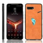 Asus ROG Phone 2 II ZS660KL Leather Shockproof Hybrid Thin Hard Case Back Cover