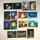 THE LITTLE MERMAID ProSet 1991 Complete STAND-UP DIE-CUT Chase Card Subset (15)