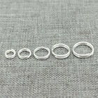 30pcs of 925 Sterling Silver Split Rings 5mm 6mm 8mm for Jewelry Making