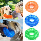 Durable Dog Squeaky Chew Toys for Aggressive Chewers Dental Teething Cleaning