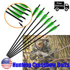 Crossbow Bolts Aluminum Shaft 16-22 inch for Archery Outdoor Target PowerHunting