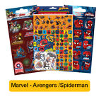 MARVEL Fun Foil Stickers - Birthday Christmas Xmas Gift Stationery Colouring