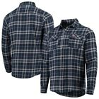 Antigua Minnesota Twins Navy/Gray Flannel Button-Up Shirt on Ebay