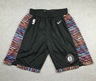 New Adult Size Black Color Brooklyn Nets Shorts City Edition S M L XL XXL on eBay