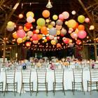 3~30pcs Round Paper Lantern Wedding Party Decor Chinese Lanterns 8/10/12 Inch