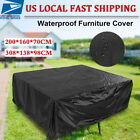 Waterproof Sofa Furniture Cover Patio Outdoor Garden Rattan Sofa Protection Us