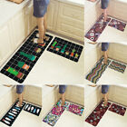 Kyпить 2 Piece Kitchen Mat Set Doormat Runner Rug Anti-Slip Carpet Floor Pad Non Slip на еВаy.соm