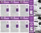 """NEW Crafters Companion 3D 5"""" x 7"""" Embossing Folders or A6 Stamps"""