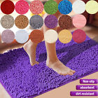 Kyпить Soft Microfiber Shaggy Non Slip Absorbent Bath Mat Bathroom Shower Rugs Carpet на еВаy.соm