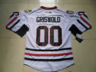 Mens Clark Griswold 00 Christmas Vacation Movie Jersey Stitched