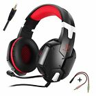 3.5mm Gaming Headsets Headphone Earphone with Mic Stereo Bass for XBOX ONE PS4