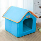 StoreInventorypet dog bed house foldable with mat puppy cat sofa soft cushion kennel nest s-l
