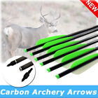 6X 16-22 Inch Aluminum Crossbow Bolts With Half Moon Nock Hunting Shooting Sport