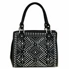 Montana West Satchel Crossbody Purse Bling Collection Crystal Tribal